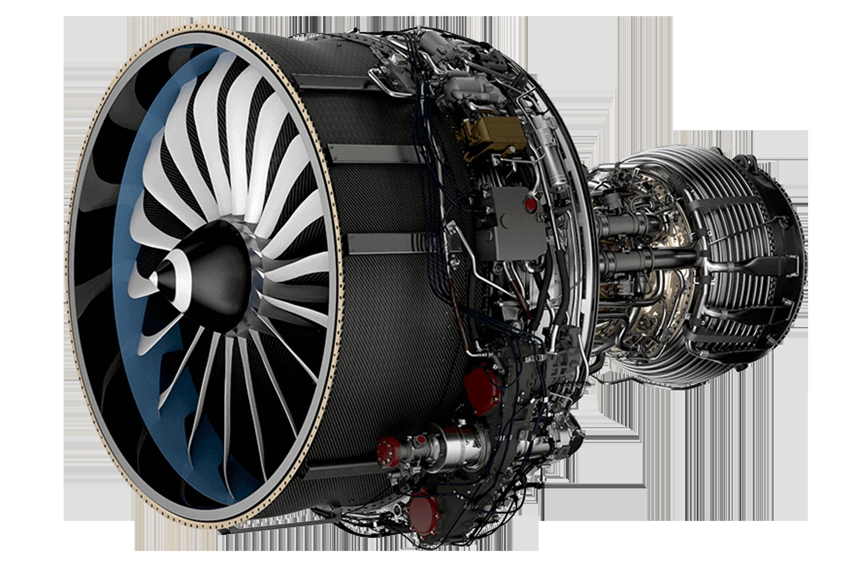 CFK Flugzeugturbine