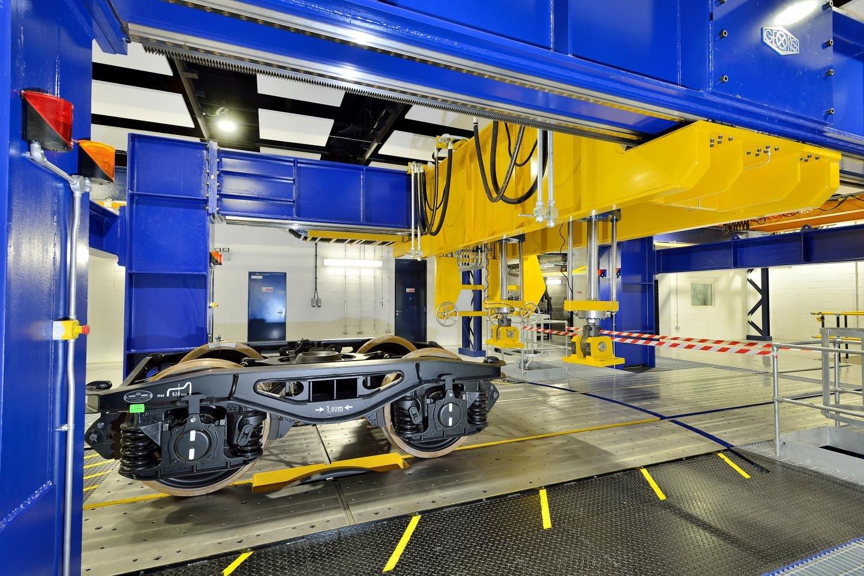 Drehgestell aus Carbon