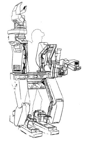 Exoskelett Hardiman GE
