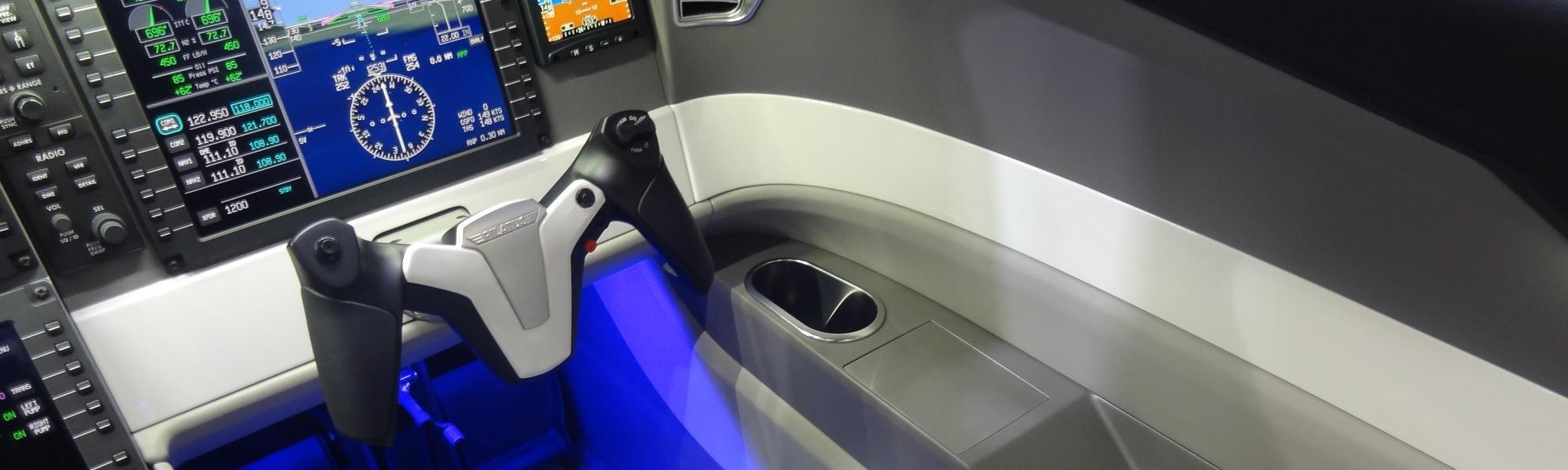Carbon und Kunststoff Teile Luftfahrt