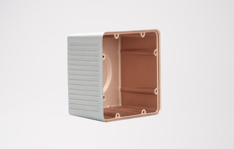 Vakuumgussteile Gewindeeinsatz EMV Beschichtung PU
