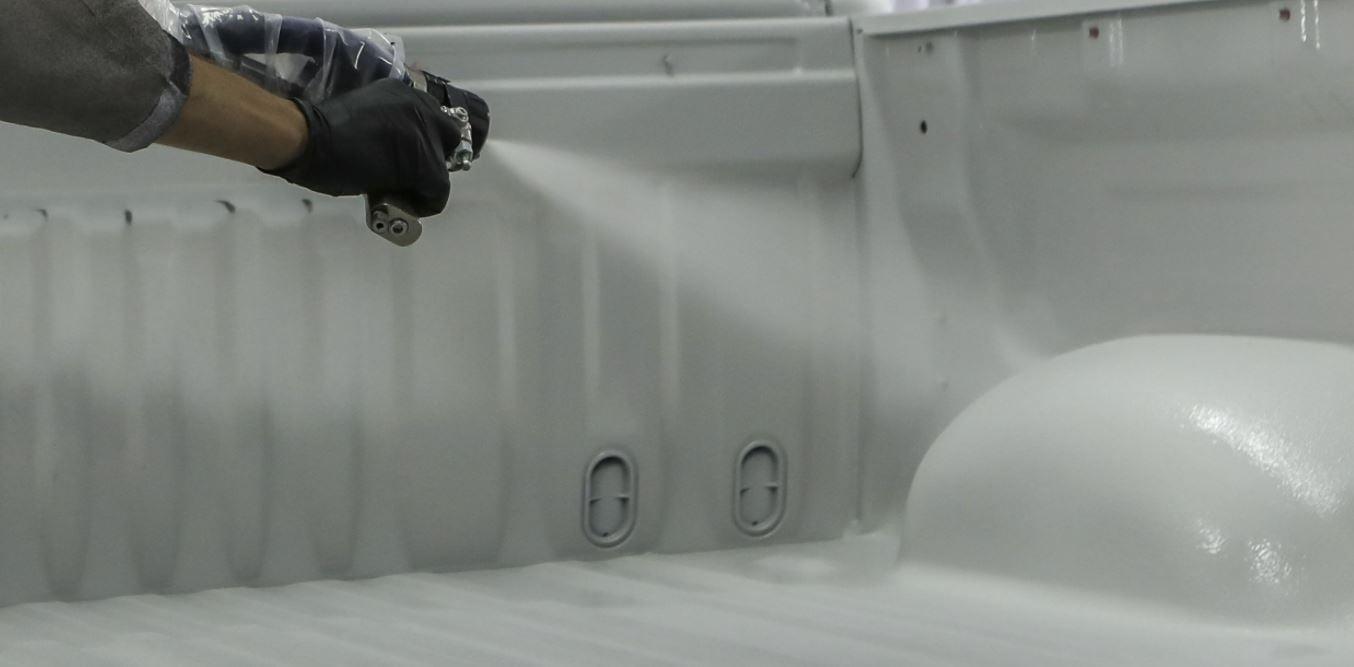 Maschinenbau Polyurea