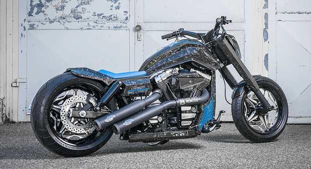 carbon harley