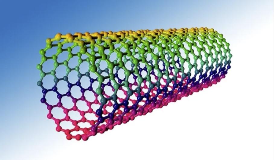 Darstellung einer Carbon-Nanotube